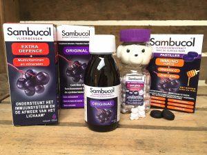 Sambucol met vlierbessen ondersteun je weerstand
